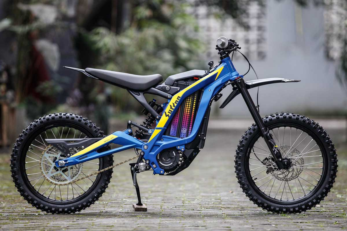 New Youth Electric MX Bike by Sur-Ron